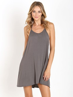 Joah Brown Free Me Tank Dress Slate