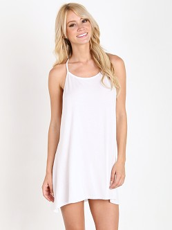 Joah Brown Free Me Tank Dress White