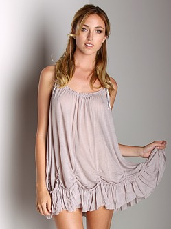 Free People Pick Me Up Tunic Taupe
