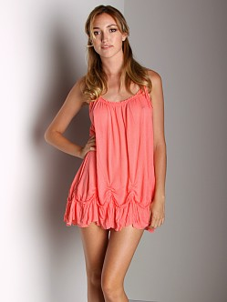 Free People Pick Me Up Tunic Sherbert