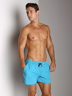 Hugo Boss Lobster Swim Shorts Turquoise
