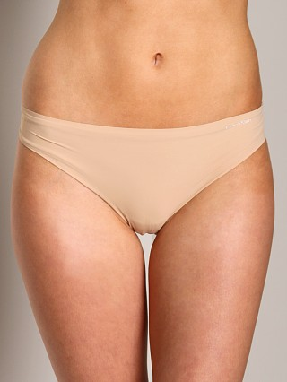 Complete the look: Calvin Klein Invisible Thong Carmel