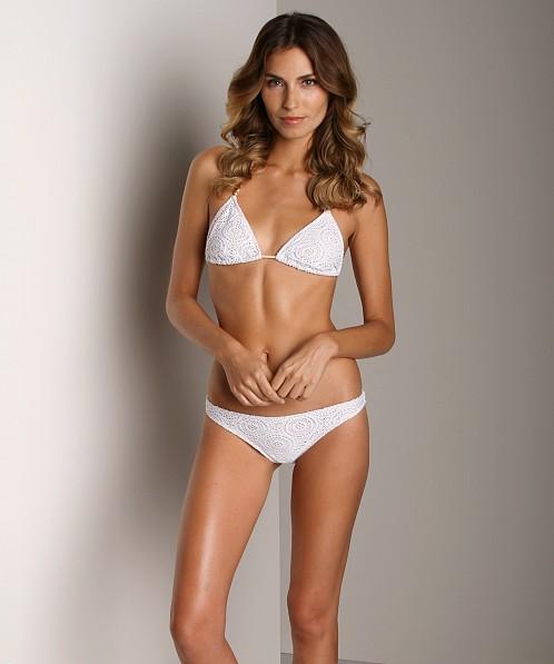 Eberjey Boho Beautiful Bikini Bottom Coco White W1072co