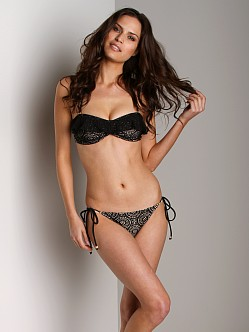 Eberjey Boho Beautiful Bikini Bottom Eva Black