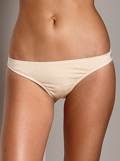 Eberjey Beach Glow Bikini Bottom Allie French Vanilla