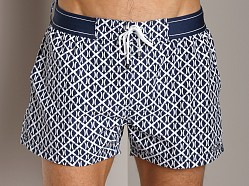 2xist (X)Print Ibiza Woven Swim Shorts Estate Blue