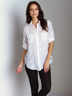 Duck & Weave Button Down Shirt White
