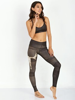 Teeki Hot Pant Deer Medicine Charcoal