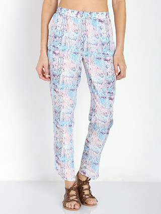 Lovers + Friends Petal Pant Pastel Python
