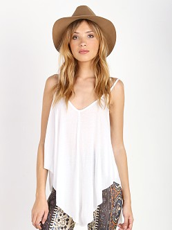 Free People Fantasy Cosmic Triangle Tank White