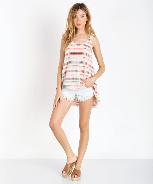 Free People Stripe Sailor Tank Ivory Combo