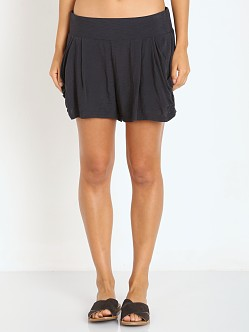 Free People Drapey Pocket Short Graphite