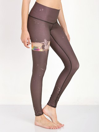 Teeki Rainbow Priestess Hot Pant Coffee