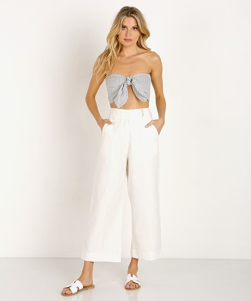 Winston White Sailor Crop Top Pebble