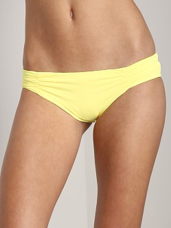 L Space Monique Bikini Bottom Daffodil