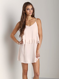 L Space Wild Fringe Tunic Shell