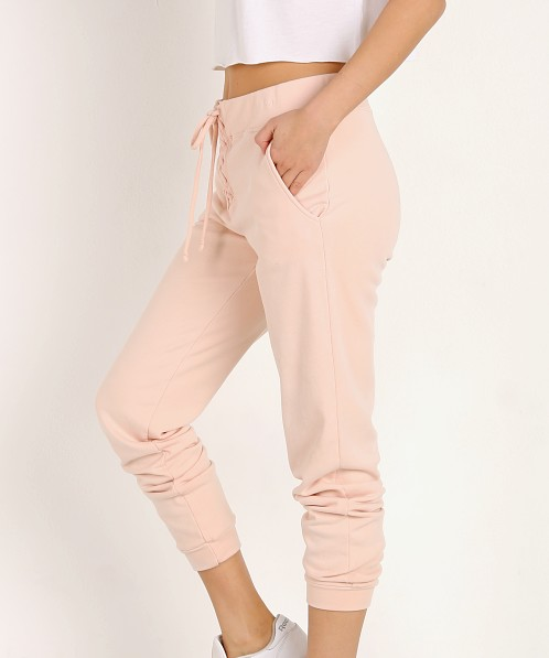 Year of Ours Lace Up Sweat Pant Blush