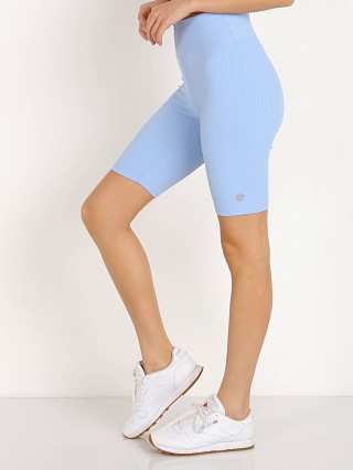 Year of Ours Ribbed Biker Short Baby Blue