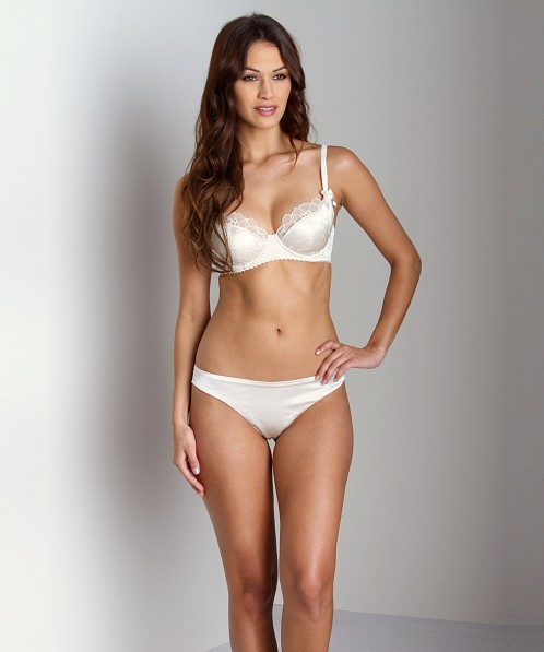 Stella McCartney Erin Wishing Balconette Bra Ivory