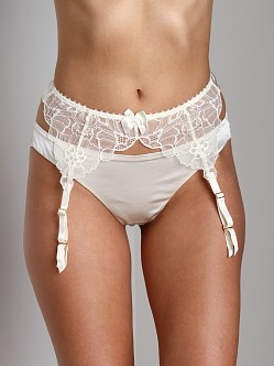 Stella McCartney Erin Wishing Suspender Belt Ivory