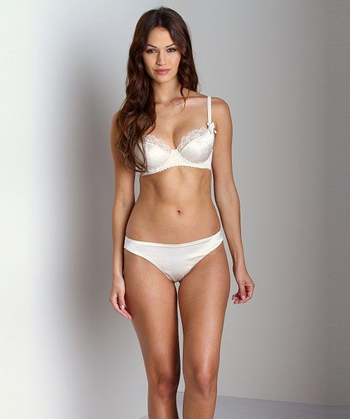 Stella McCartney Erin Wishing Thong Ivory
