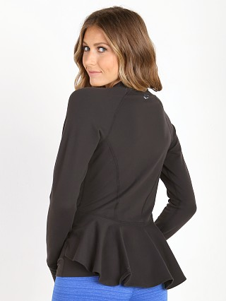 Beyond Yoga Peplum Back Jacket Black
