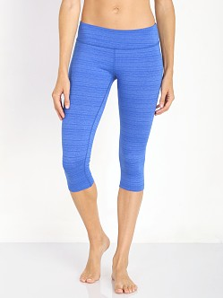 Beyond Yoga Stripe Capri Legging Lapis