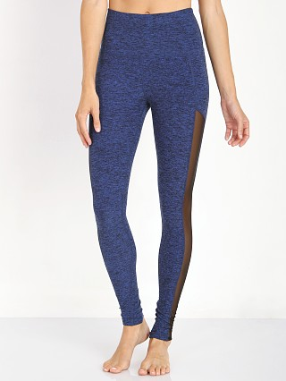 Beyond Yoga High Waist Mesh Legging Black/Bright Lapis