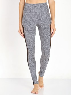 Beyond Yoga High Waist Mesh Legging Black Space Dye