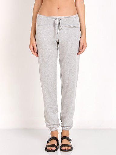 Beyond Yoga Cozy Fleece Staple Sweatpant Heather Grey