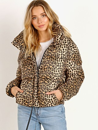 APPARIS Paula Leopard Puffer Jacket