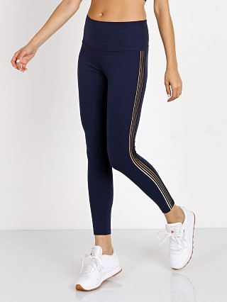Beyond Yoga Sheer Illusion High Waisted Midi Legging Valor Navy