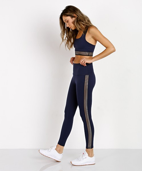754372bb1b48ac Beyond Yoga Sheer Illusion High Waisted Midi Legging Valor Navy SP3216 -  Free Shipping at Largo Drive