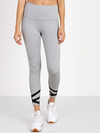 Beyond Yoga Overture Strappy Ballet Midi Legging Pintuck Grey