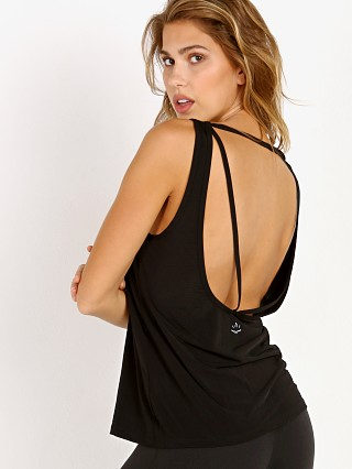 Beyond Yoga True Stripes Low Back Tank Black