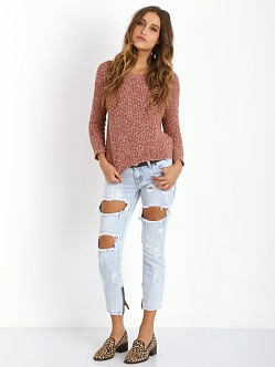 Free People Sahara Star Pull Over Spice