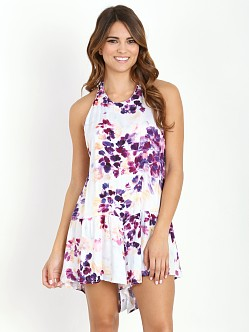 Some Days Lovin Lonely Floral Halter Jumpsuit