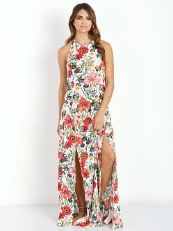 Some Days Lovin Bella Floral Split Maxi Dress