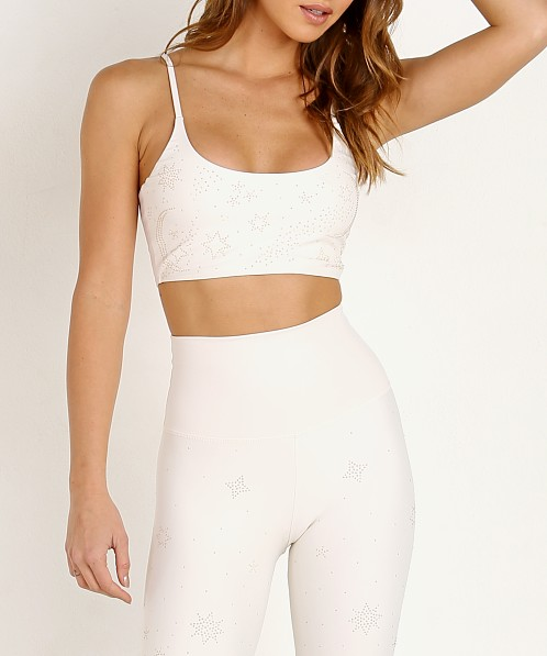 Beach Riot Weslie Sports Bra Ivory