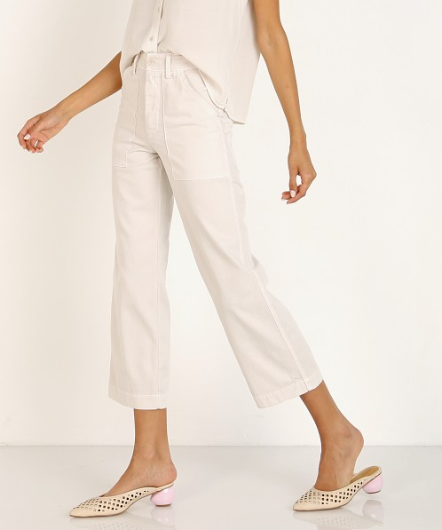 LACAUSA Brushed Stella Trousers Moon