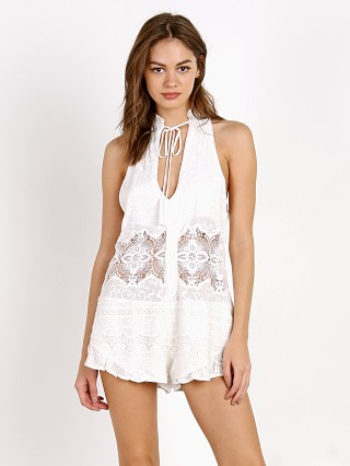 Beach Riot Barcelona Romper All White