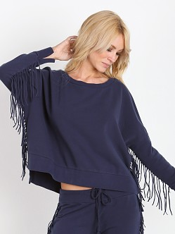 Amuse Society Emma Fleece Faded Indigo