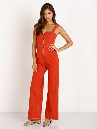 Capulet Simon Jumpsuit Vintage Red