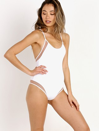 Tori Praver Belle One Piece White