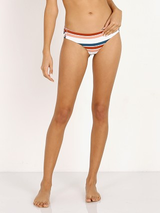 Model in remy stripe Tori Praver Jeane Cheeky Bikini Bottom
