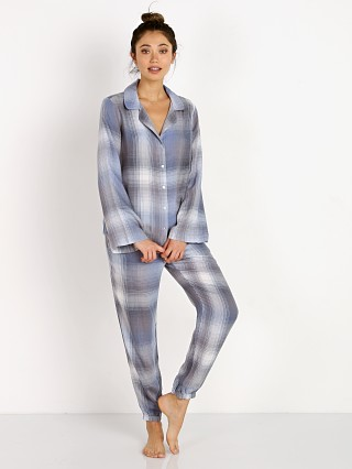 Bella Dahl Night Shirt + Jogger Box Set Blue Moon