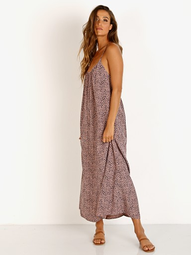 LACAUSA Printed Estelle Dress Muse