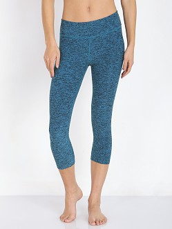 Beyond Yoga Capri Legging Turquoise Space Dye