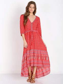 Spell Gypsiana Maxi Dress Red Bandana