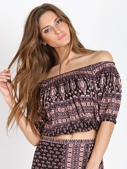 Spell Gypsiana Off the Shoulder Top Pepper